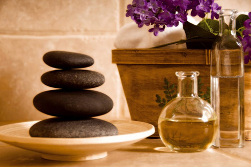 Hot stone massages and other theories are taught with our Beauty Therapy Courses