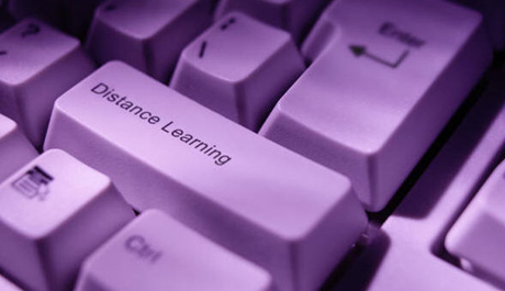 Distance learning is a form of education where there is no face-to-face contact with teachers, lecturers or other students in a classroom environment.